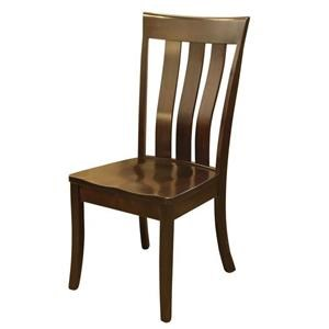 Wayside Custom Furniture Amish Dining Chairs Clear Creek Dining Chair