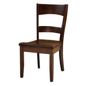 Wayside Custom Furniture Amish Dining Chairs Coalton Dining Chair