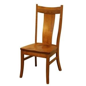 Wayside Custom Furniture Amish Dining Chairs Eagle Dining Chair
