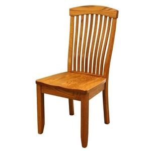 Wayside Custom Furniture Amish Dining Chairs Emerald Dining Chair