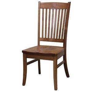 Wayside Custom Furniture Amish Dining Chairs Fallsbury Dining Chair