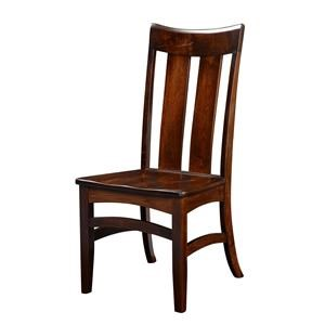 Wayside Custom Furniture Amish Dining Chairs Galion Shaker Dining Chair