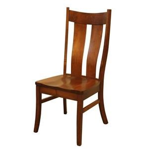 Wayside Custom Furniture Amish Dining Chairs Kirkersville Dining Chair