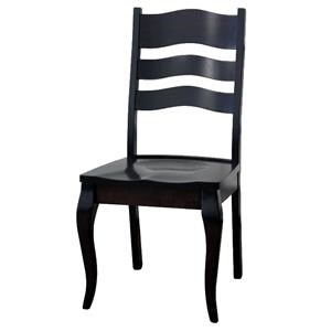 Wayside Custom Furniture Amish Dining Chairs LaSalle FC Dining Chair