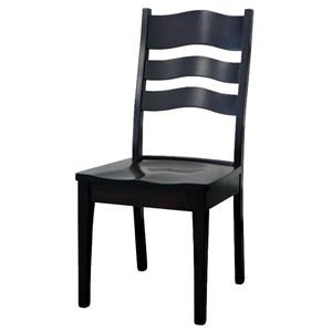 Wayside Custom Furniture Amish Dining Chairs LaSalle Dining Chair