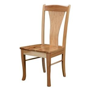 Wayside Custom Furniture Amish Dining Chairs Lindsey Dining Chair