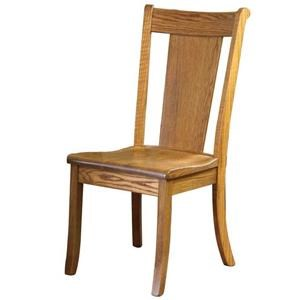Wayside Custom Furniture Amish Dining Chairs Mayfield Dining Chair