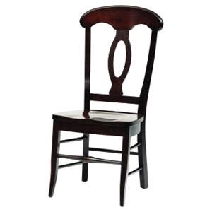 Wayside Custom Furniture Amish Dining Chairs Napolean Dining Chair