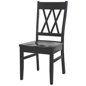 Wayside Custom Furniture Amish Dining Chairs Townsend Dining Chair