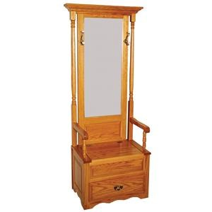 Deluxe Hall Seat with Drawer