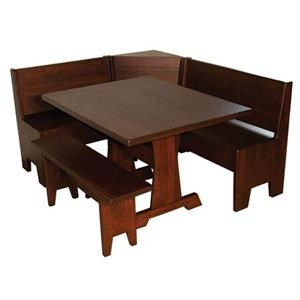Wayside Custom Furniture Casual Dining Heritage Nook Set