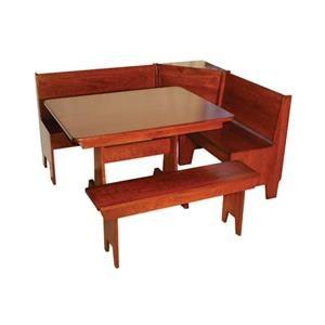 Wayside Custom Furniture Casual Dining Economy  Nook Set