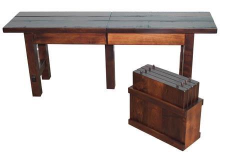 Barn Floor Extend-A-Bench