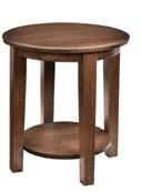 """22"""" Round End Table"""