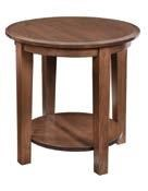 "24"" Round End Table"