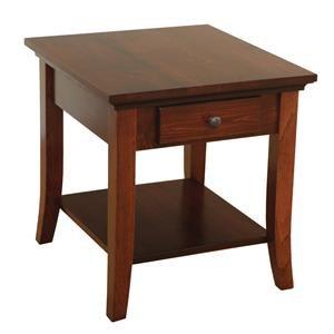 Wayside Custom Furniture Carlisle Shaker End Table