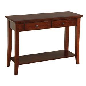 Wayside Custom Furniture Carlisle Shaker Sofa Table