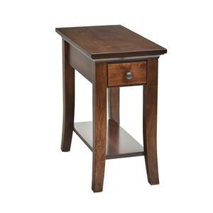 Wayside Custom Furniture Carlisle Shaker Chairside Table