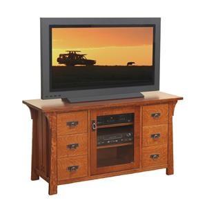 "Wayside Custom Furniture Cantebury 56"" TV Console"