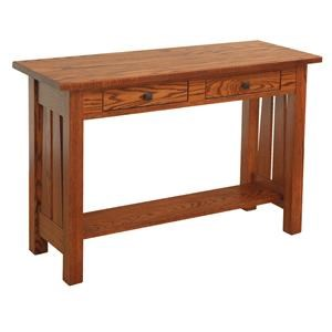 Wayside Custom Furniture Canted Mission Sofa Table