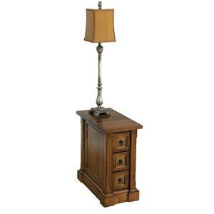 Wayside Custom Furniture Bridgeport Chairside Table