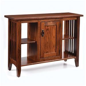 Wayside Custom Furniture Enclosed Mission Sofa Table