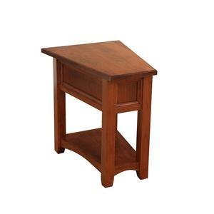 Wayside Custom Furniture Open Garnet Hill Wedge Table