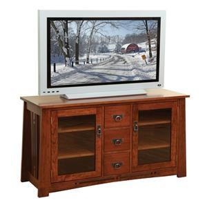"Wayside Custom Furniture Aspen 56"" TV Console"