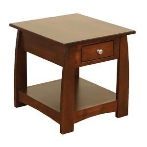 Wayside Custom Furniture Sonoma End Table