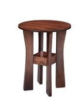 "18"" Round End Table"