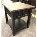 Wayside Custom Furniture HWO End Table - Item Number: HWO480-001DS-2TONE