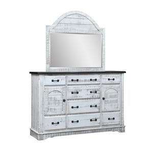 Mule Dresser & Mirror