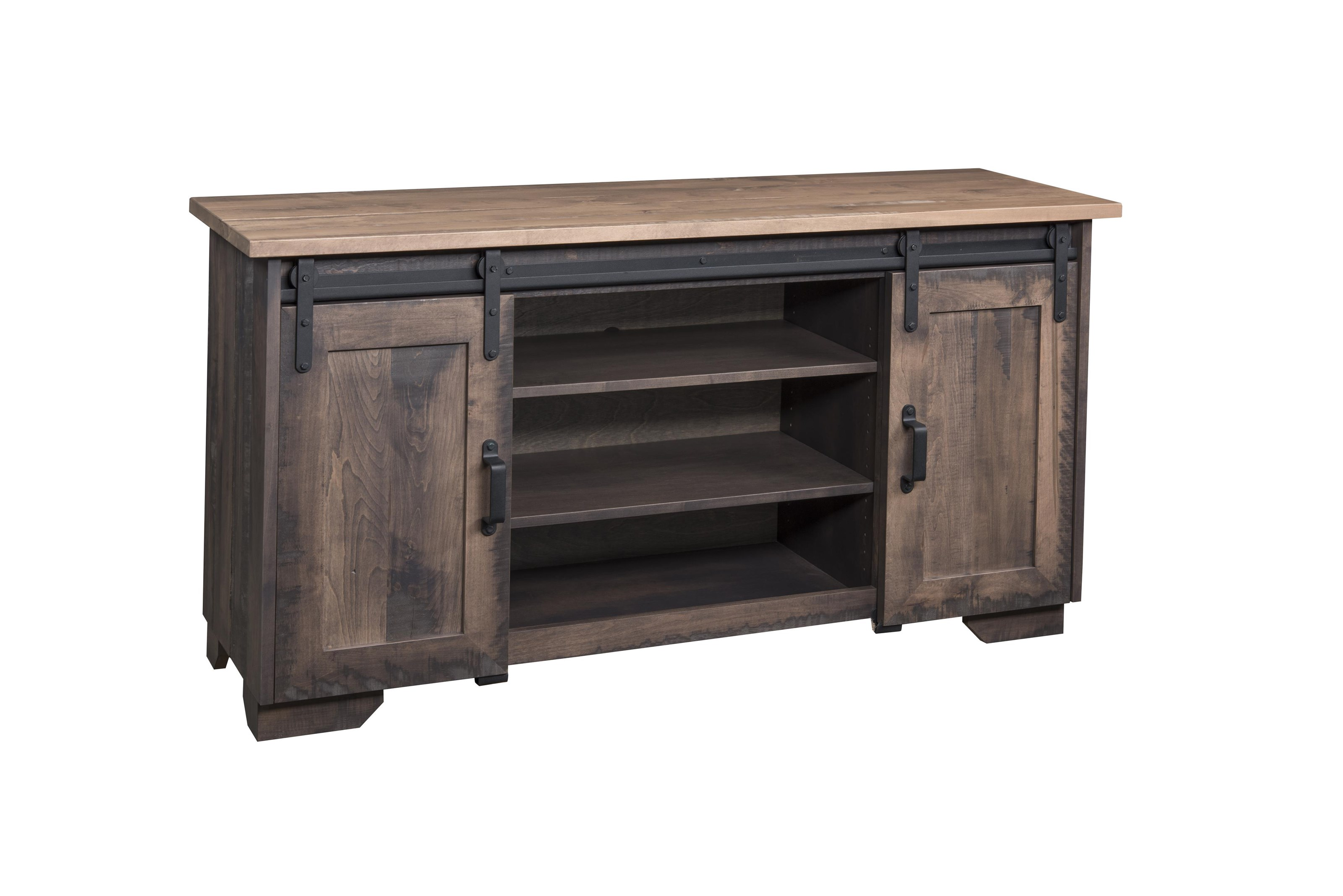 Wayside custom furniture solid wood tv stands quot barn