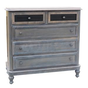 Wayside Custom Furniture Tribecca Deluxe Media Chest