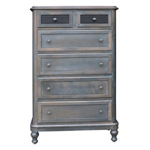 Wayside Custom Furniture Tribecca 6 Drawer Chest