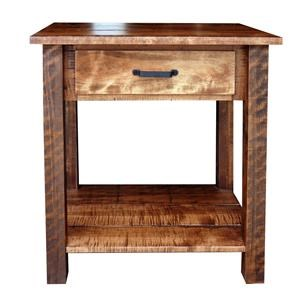 Wayside Custom Furniture Bear Creek Open Night Stand