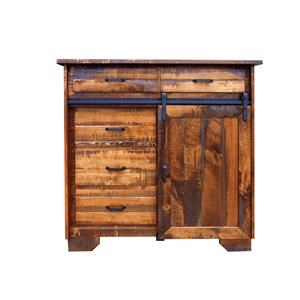 Wayside Custom Furniture Bear Creek 5 Drawer Chest