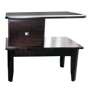 Wayside Custom Furniture Casual RSF Open Night Stand