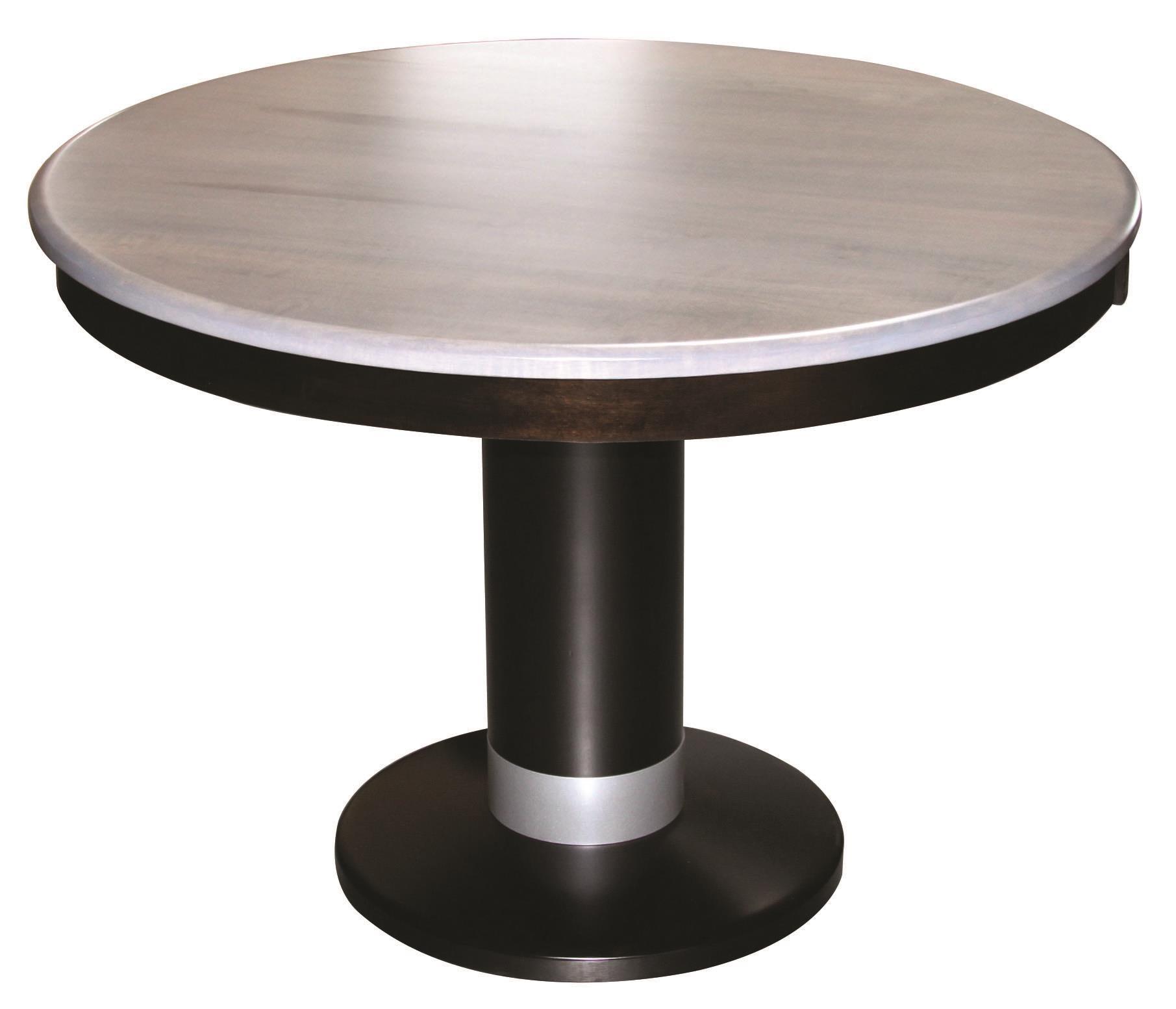 Alcoe Round Single Pedestal Table
