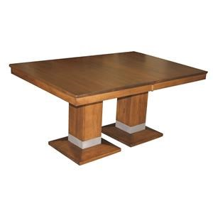 Alcoe Double Pedestal Table