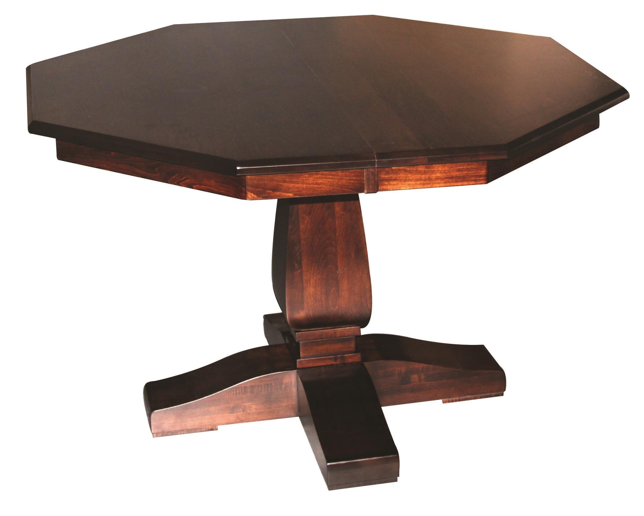 Bassett Single Pedestal Table