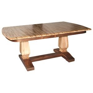 Bassett Double Pedestal Table