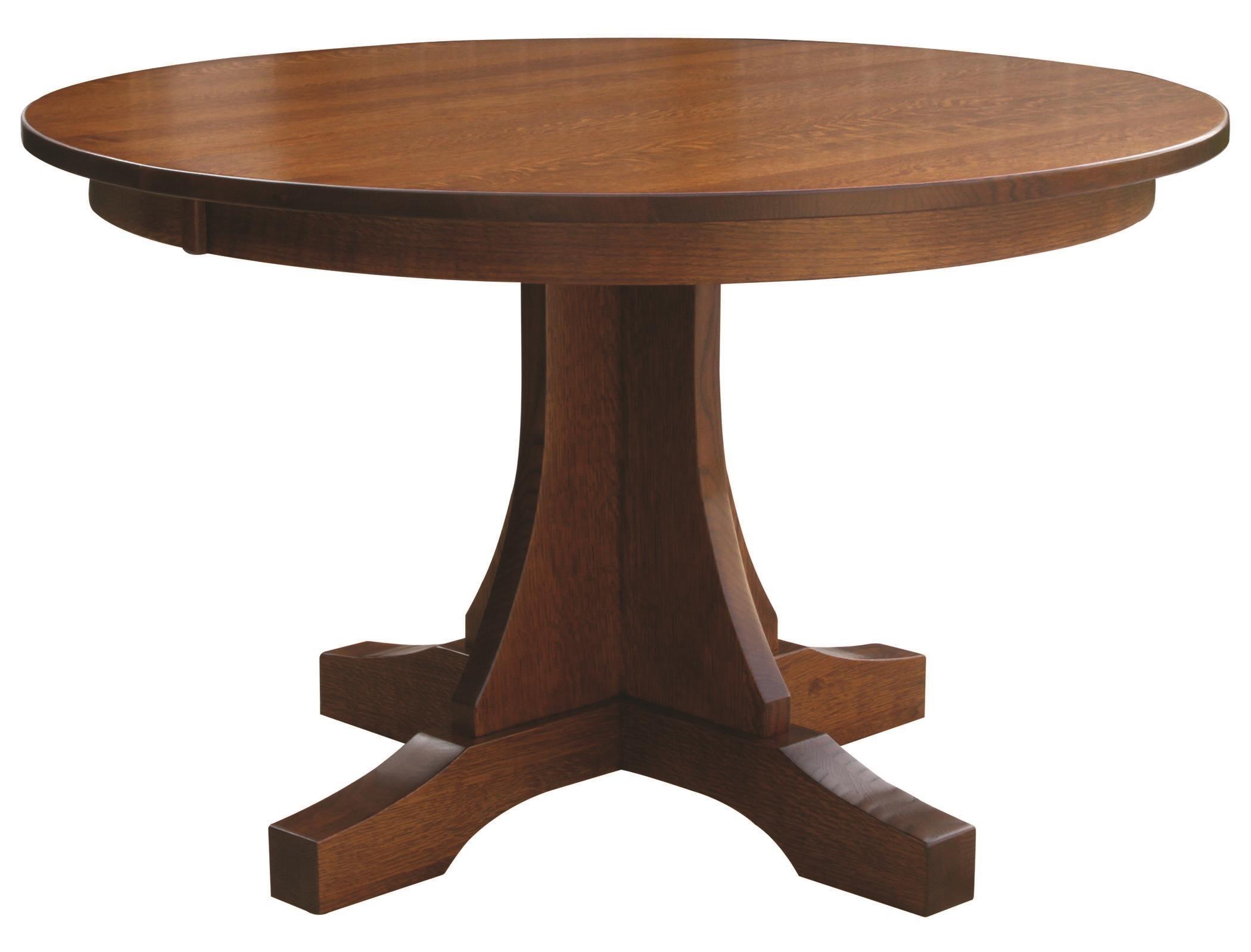 Copper Creek Single Pedestal Table