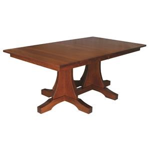 Copper Creek Double Pedestal Table