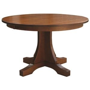 Copper Creek Single Pedestal Table