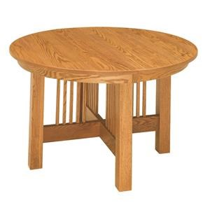 Craftsman Single Pedestal Table