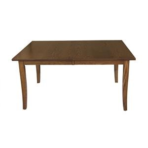 Curved Shaker Leg Table