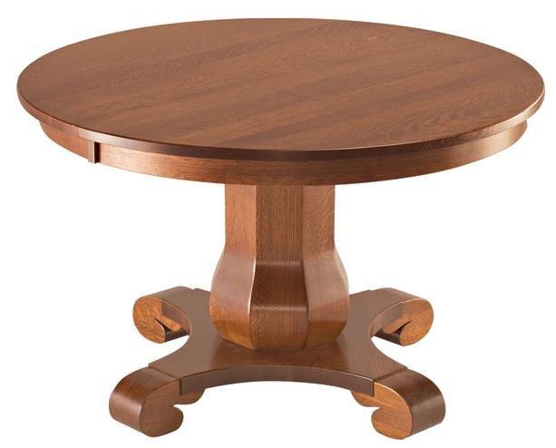 Hampton Single Pedestal Table
