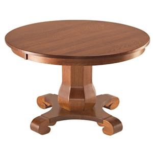 Hampton Single Pedestal Table