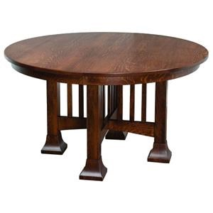 Mesa Single Pedestal Table